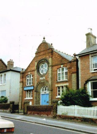 Reigate Lesbourne Road Primitive Methodist chapel | Keith Guyler 1988