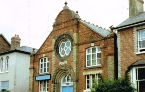 Reigate Lesbourne Road Primitive Methodist chapel