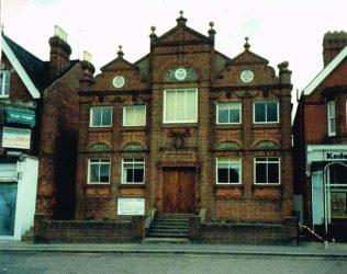 Horsham East Street Primitive Methodist chapel | Keith Guyler 1988