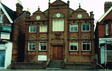 Horsham East Street Primitive Methodist chapel