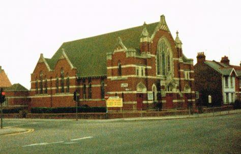 Eastbourne St Aidan's Primitive Methodist chapel