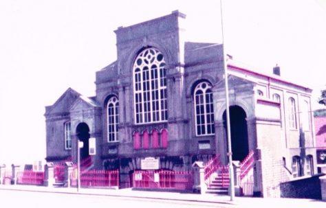Brighton Queens Park Road Primitive Methodist chapel