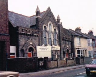 1876 Brighton; Primitive Methodist Church, Viaduct Road | Keith Guyler 1988