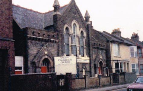 Brighton; Viaduct Road Primitive Methodist Church