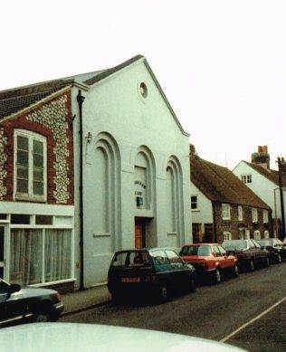 former Shoreham Primitive Methodist chapel | Keith Guyler 1989