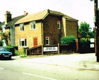 first Badshot Lea Primitive Methodist chapel | Keith Guyler 1992