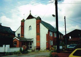 second Badshot Lea Primitive Methodist chapel | Keith Guyler 1992