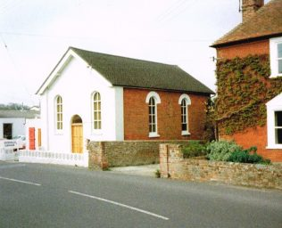 Basing Primitive Methodist chapel | Keith Guyler 1989