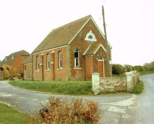 1870 Wootton St Lawrence Primitive Methodist chapel | Keith Guyler 1989