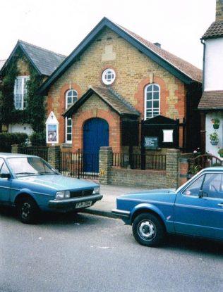 Shepperton Primitive Methodist chapel | Keith Guyler 1994