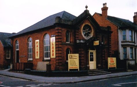 Aldershot Ebenezer Primitive Methodist chapel