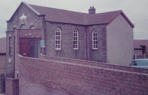Northfleet Wood Street Primitive Methodist chapel