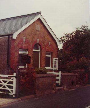 Shorne Primitive Methodist chapel | Keith Guyler 1981