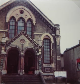 former Tunbridge Wells Camden Road Primitive Methodist chapel | Keith Guyler 1984