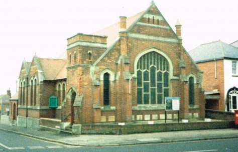 Bexhill Springfield Road Primitive Methodist chapel