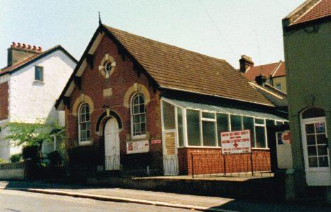 St Leonards Newgate Street Primitive Methodist chapel
