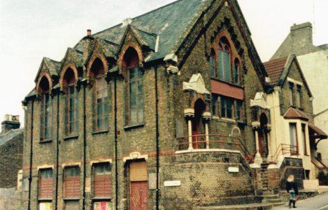 Margate Dane Hill Primitive Methodist chapel