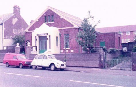 Northwood Primitive Methodist chapel