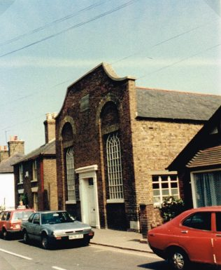 Moat Sole Primitive Methodist chapel, Sandwich | Keith Guyler 1986