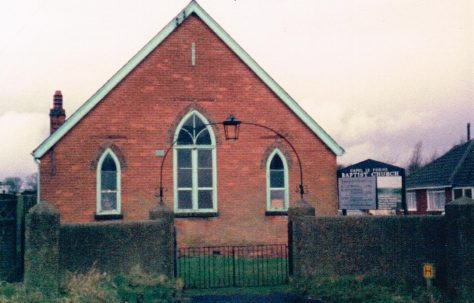 Capel-le-Ferne Primitive Methodist chapel