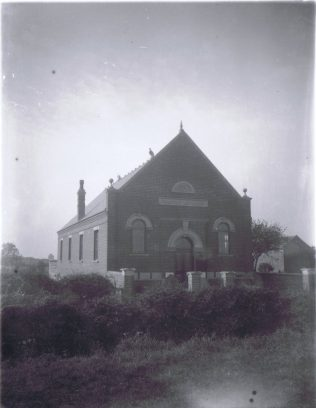 former Primitive Methodist chapel somewhere in the Ibstock area | with permission of the Ibstock Historical Society; copyright remains with the original donor