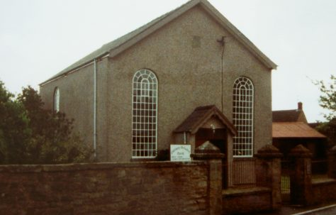 Coalway; Pisgah Primitive Methodist chapel