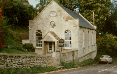 Butterrow; Zion Primitive Methodist chapel
