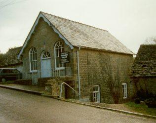 North Cerney Primitive Methodist chapel   Keith Guyler 1990