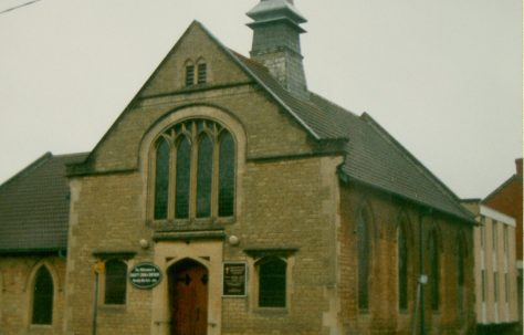 Chippenham Sheldon Road Primitive Methodist chapel and its forerunner in Lowden