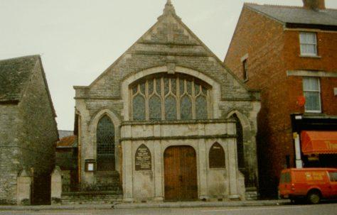 Malmesbury Primitive Methodist chapel