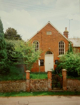 1872 Watchfield Primitive Methodist Chapel, closed and for sale in 1994 | Keith Guyler 1994