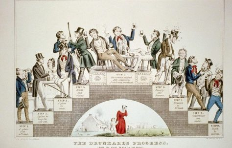 Teetotalism in the 1840s