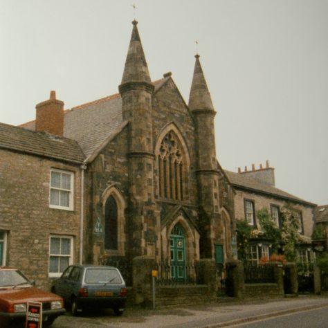 1902 Kirkby Stephen Primitive Methodist Chapel, Fletcher Hill, in 1991   Keith Guyler 1991