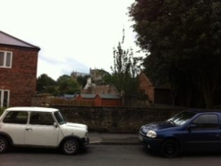 The site of the 1821 chapel in Priest Lane (August 2013) | David Noble