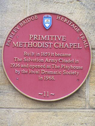 Detail of the plaque on the building | David Noble