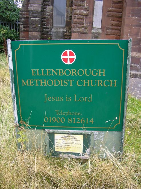 (iii) Ellenborough, Old Road PM Chapel, notice board , 20.09.2014 | G W Oxley
