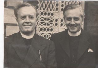 His two sons, at a Methodist Conference, Henry (L) and Alfred (R) | David Wigley
