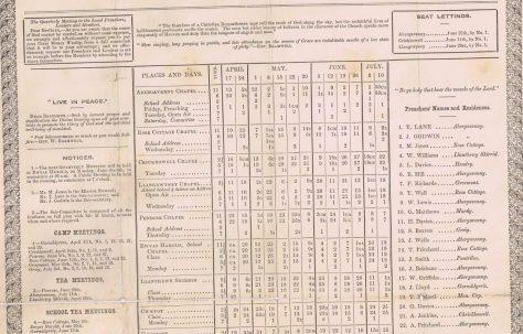Abergavenny Mission 1870 Q2