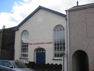 Abergavenny; Victoria Street Tabernacle Primitive Methodist Chapel, Monmouthshire