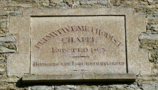 Adforton PM Chapel wall plaque | R Beck