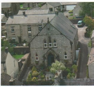 Aerial view of chapel taken from the Parish Church Tower