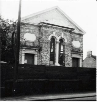 Photo No.2 The 1862 chapel prior to demolition