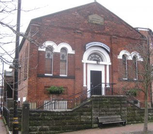 Altrincham (Oxford Road) Primitive Methodist Chapel Cheshire