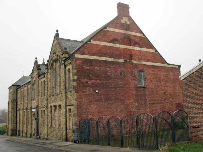 Anns Road Primitive Methodist chapel rear | Christopher Hill 2016