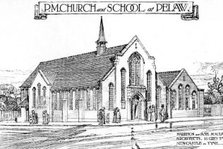 Architect's drawing for the proposed Pelaw PM Chapel (not built to this design) | Bede Circuit Archive Collections