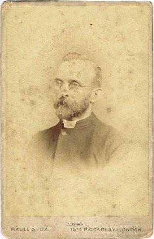 Rev Arthur Baldwin, c1904 | Englesea Brook Museum 10.04
