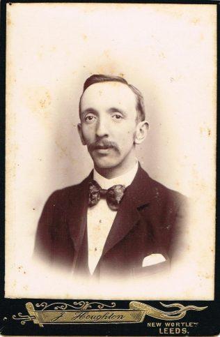 Mr Arthur Lax, Leeds, 1904 | Englesea Brook Museum 10.04
