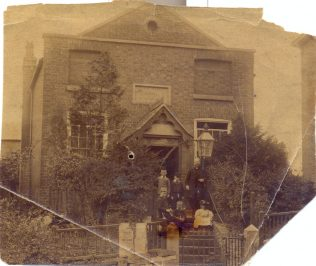 Rev John Redhead and his family on the steps of Ashbourne Chapel, c1893 (see comment below) | David Redhead
