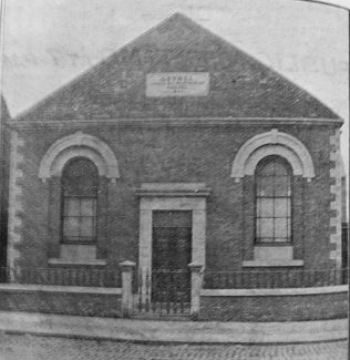 Bethel Primitive Methodist chapel Attercliffe | Handbook of the Primitive Methodist Conference 1901; Englesea Brook Museum