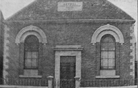 Sheffield Attercliffe Bethel Primitive Methodist chapel